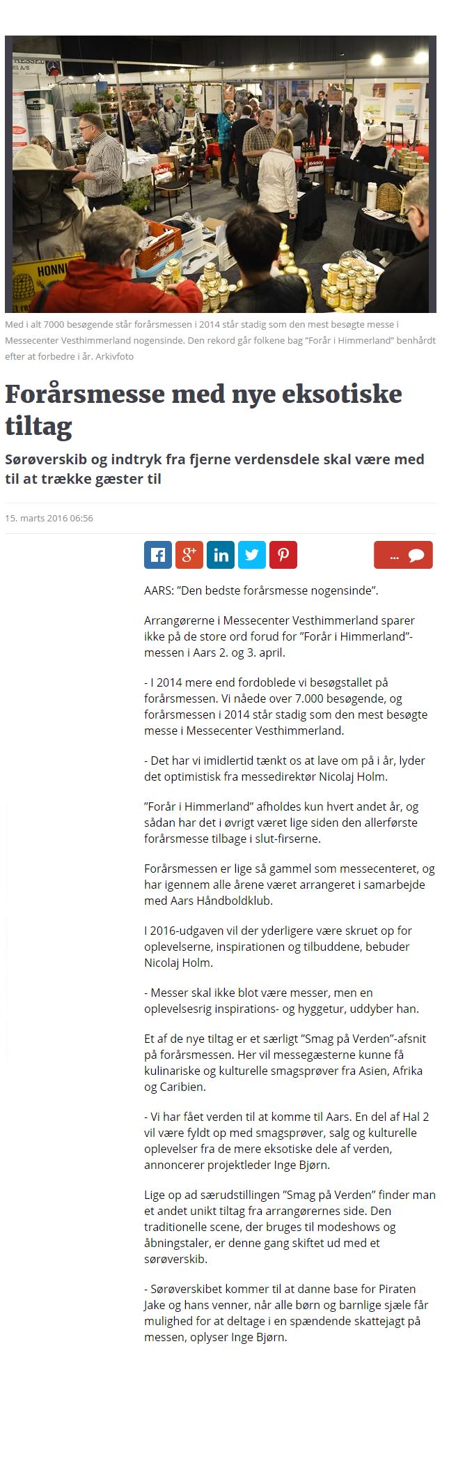 Forårsmesse med nye eksotiske tiltag   Nordjyske.dk (2)
