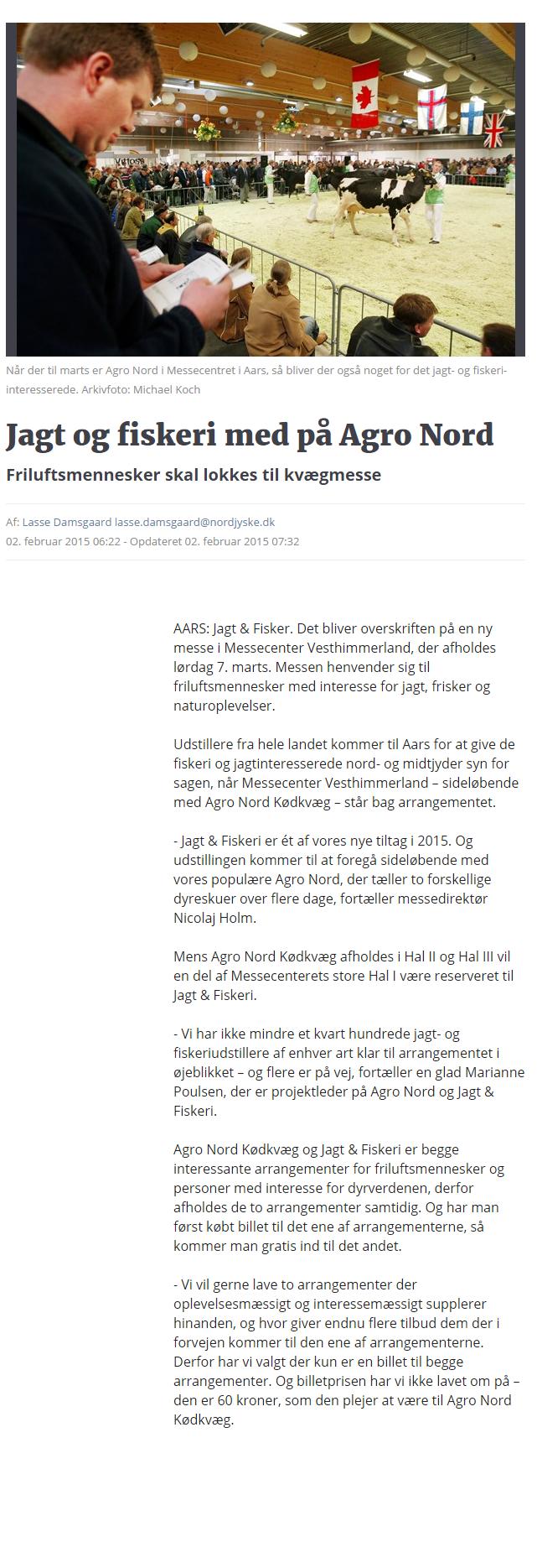 Jagt og fiskeri med på Agro Nord   Nordjyske.dk (1)