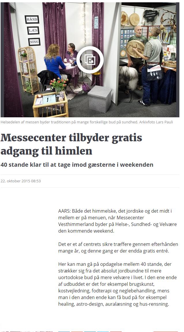 Messecenter tilbyder gratis adgang til himlen   Nordjyske.dk